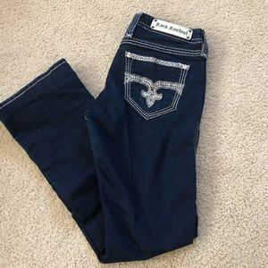 Rock Revival Easy Boot Jeans Size 28